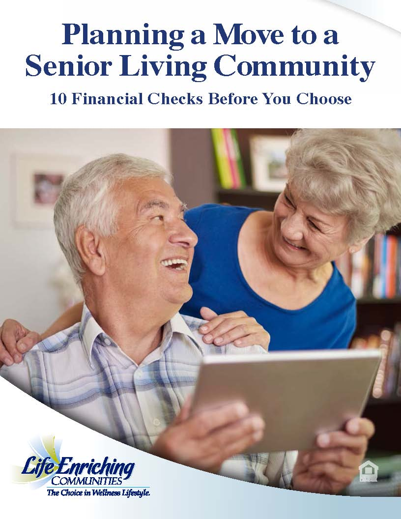 book cover featuring two seniors looking at tablet