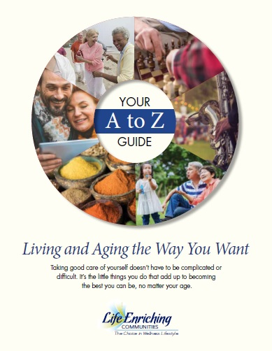 book cover of living and aging the way you want