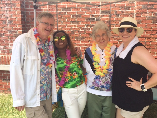 tl associates and resident at luau