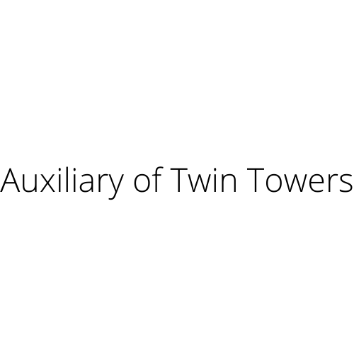 auxillary of twin towers logo