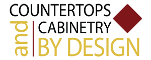 countertops and cabinets by design logo